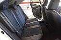 Авточехлы экокожа с двойной строчкой для Subaru (Субару), фото 9