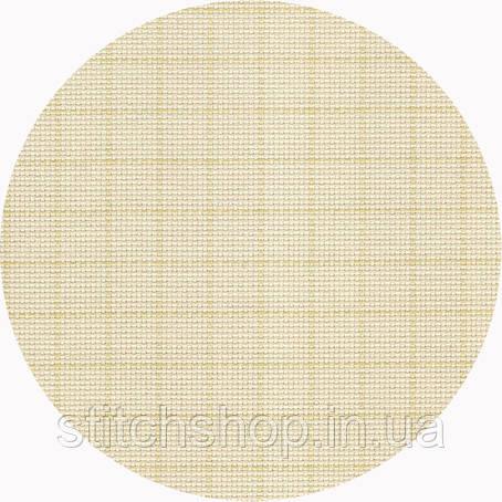 3475/2169 Канва Aida 14/54 Zweigart, кремовая с НЕсмываемой разметкой, ширина - 150 см., ткань для в.