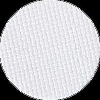 3793/100 Канва Fein-Aida 18/70 Zweigart, белый, ширина - 110 см., ткань для вышивания.