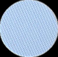 3793/503 Канва Fein-Aida 18/70 Zweigart, голубой, ширина - 110 см., ткань для вышивания.