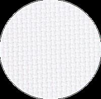 3251/100 Канва Aida 16/64 Zweigart, белый, ширина - 110 см., ткань для вышивания.