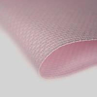 3706/313 Канва Stern-Aid 14/54 Zweigart, розовый, ширина - 110 см., ткань для вышивания.
