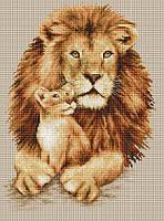 B2290 Лев. Luca-S. Набор для вышивания нитками