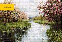 G545 Весенний пейзаж. Luca-S. Набор для вышивания нитками