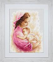 G536 Мать и дитя. Luca-S. Набор для вышивания нитками