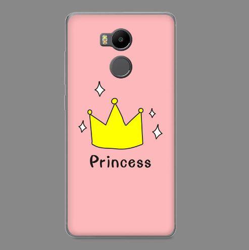 Силиконовый чехол бампер для Xiaomi Redmi 4 Pro / Redmi 4 Prime с картинкой Принцесса