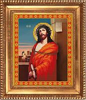 К-4003 Иисус в терновом венце. Благовест. Схема на ткани для вышивания бисером