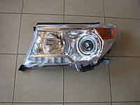 Передние фары на Toyota Land Cruiser 200 (рестайлинг)