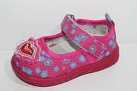 Детская обувь тапочки.Тапочки в садик для девочек от С.Луч C771-3 (12пар p. c16 по 21)