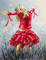 G558 Танец в поле. Luca-S. Набор для вышивания нитками