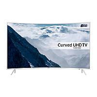 Телевизор Samsung UE49KU6512 (PQI 1600Гц, Ultra HD 4K, Smart, Wi-Fi,  DVB-T2, изогнутый экран)