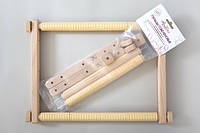 Пяльцы гобеленовые для вышивания с клипсами (пяльца-рамки)  35х48 см. Арабеска.