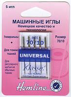 100.70 Иглы для бытовых швейных машин № 70, 5 шт.