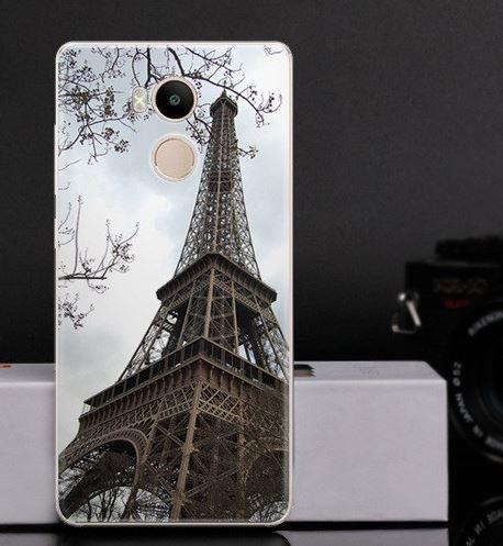 Оригинальный чехол панель накладка для Xiaomi Redmi 4 Pro / Redmi 4 Prime с картинкой Башня