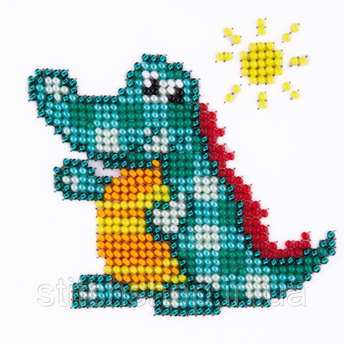L-414 Крокодил. Louise. Наборы для вышивания бисером