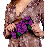 C-212 Розовый сад. Клатч. Набор для вышивания и шитья