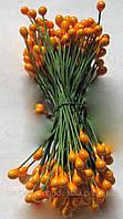 Тычинки для цветов ярко-желтые глянцевые