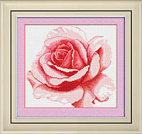 TK011 Роза. LasKo. Наборы для рисования камнями (на холсте).