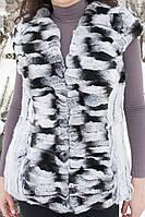 Меховой жилет женский  из шиншиллы. , фото 1