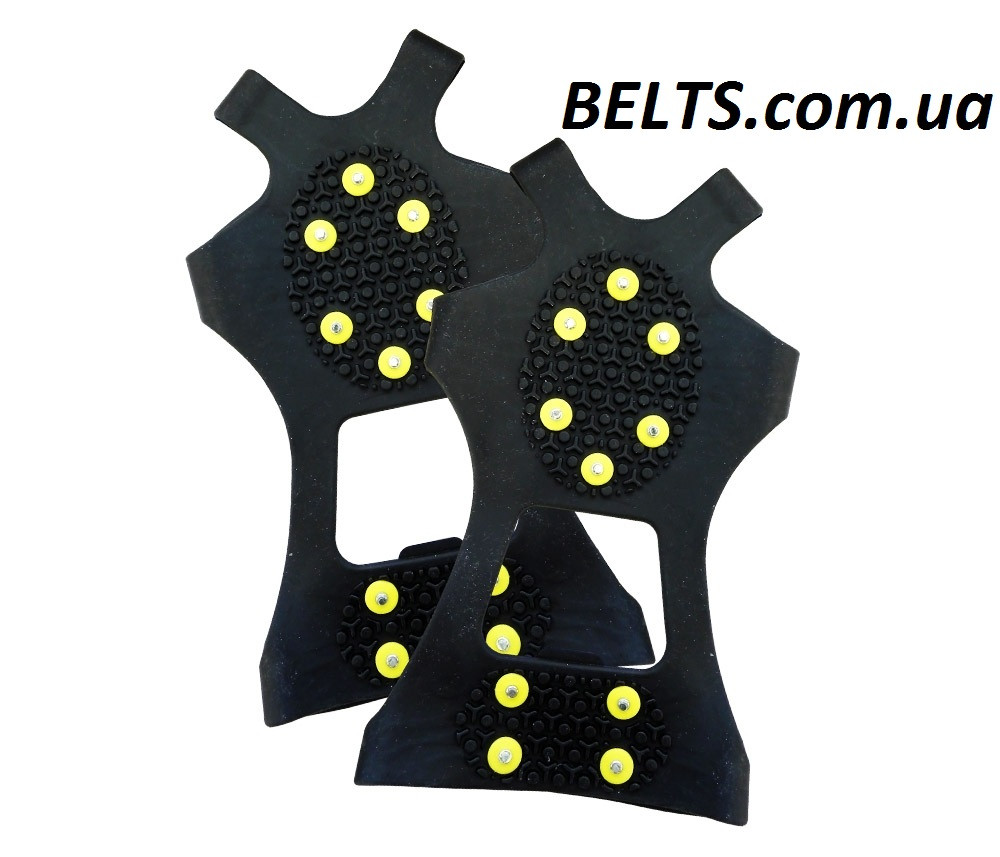 Резиновые ледоходы на 10 шипов, размер XХL - 48-52 р. (ледоходы)