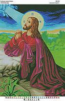 БА2-05 Молитва про чашу. Вишиванка. Схема на ткани для вышивания бисером