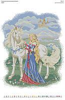 БА2-11 Сказка. Вишиванка. Схема на ткани для вышивания бисером