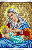 """БА2-29 Пресвятая Богородица """"Кормящая"""" (Млекопитательница). Вишиванка. Схема на ткани для вышивания бисером"""