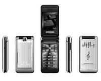 Стильный телефон-раскладушка Samsung 3360 duos (2 SIM сим карты)