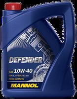 Моторное масло MANNOL DEFENDER 10W-40 API SL/CF 4л