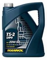 Моторное масло для грузовых автомобилей TS-2 SHPD 20W-50 5 л