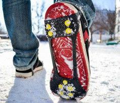 Ледоходы (ледоступы) на обувь на 10 шипов (42-47 р.)