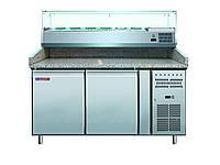 Стол холодильный для пиццы Cooleq  PZ2600TN-VRX1500/380