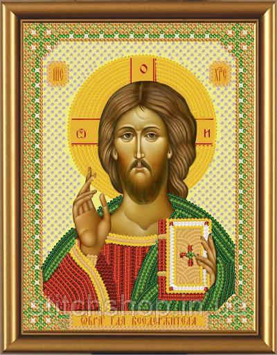 С 6001 Христос Спаситель. Новая Слобода.. Наборы для вышивания бисером