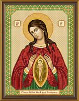 """С 6012 Пр. Богородица """"Помощница в родах"""". Новая Слобода.. Наборы для вышивания бисером"""