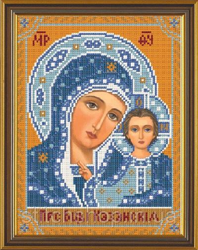С 9002 Богородица Казанская. Новая Слобода.. Наборы для вышивания бисером