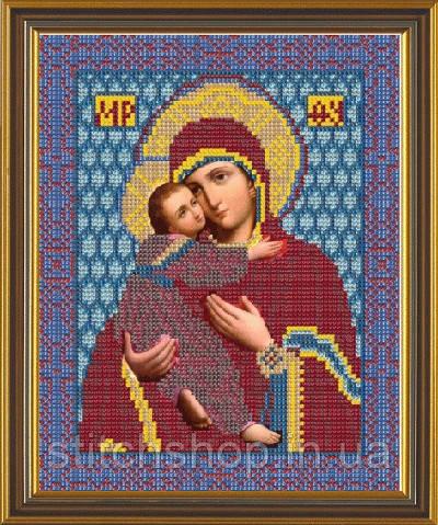 С 9008  Богородица Владимирская. Новая Слобода.. Наборы для вышивания бисером