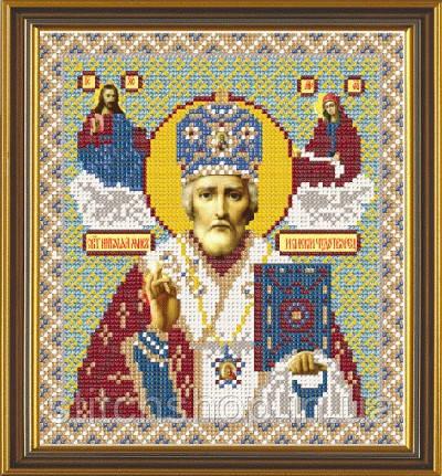 С 9014  Св. Николай Архиепископ Мир Ликийский. Новая Слобода.. Наборы для вышивания бисером