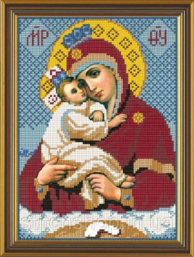 С 9026 Богородица Почаевская. Новая Слобода.. Наборы для вышивания бисером