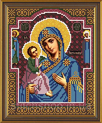 С 9067 Богородица Иерусалимская. Новая Слобода.. Наборы для вышивания бисером