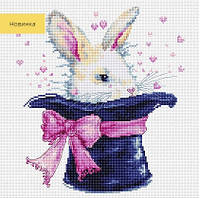 B2302 Кролик. Luca-S. Набор для вышивания нитками