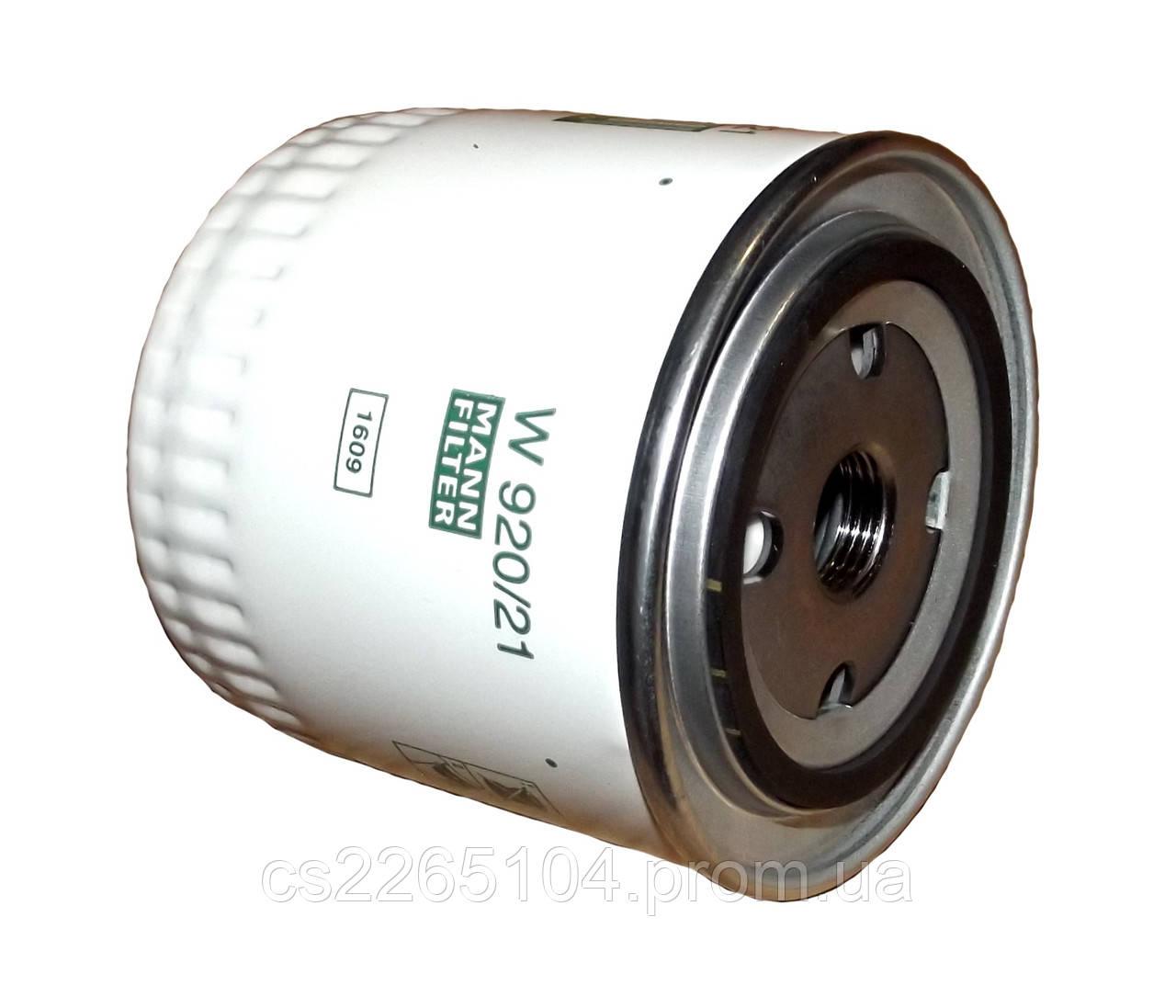 Фильтр масляный ВАЗ 2101-21213 MANN