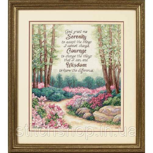 """35162 """"Нежность, доброта и ласка//Serenity, Courage, and Wisdom"""" . DIMENSIONS. Набор для вышивания нитками"""