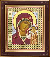 АР 1002 Богородица Казанская. BUTiK. Схема на ткани для вышивания бисером