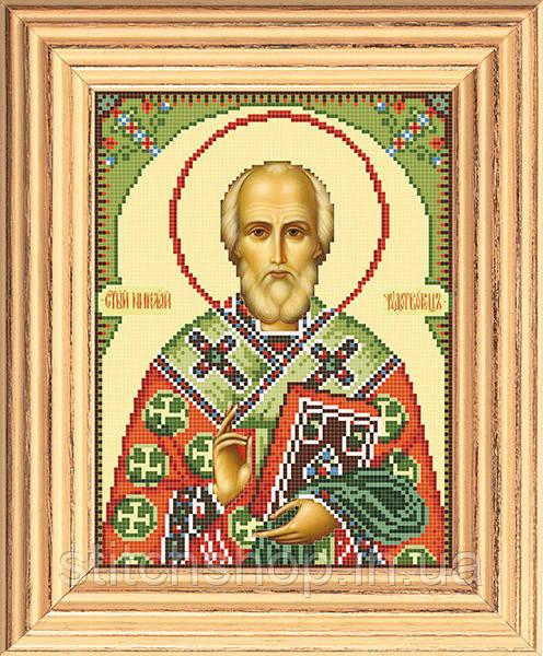 АР 1005 Св. Николай. BUTiK. Схема на ткани для вышивания бисером