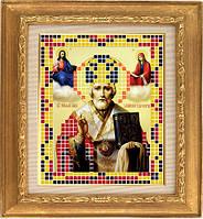 АР 7003 Николай Чудотворец. BUTiK. Схема на ткани для вышивания бисером
