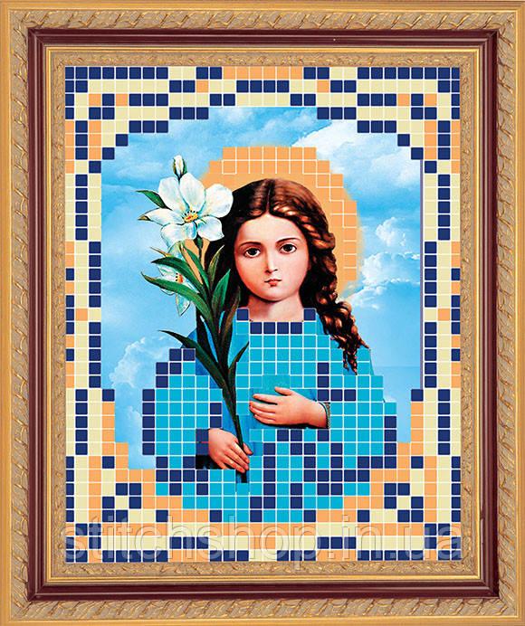 АР 7005 Богородица Трилетствующая. BUTiK. Схема на ткани для вышивания бисером