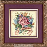 """6995 """"Букет из роз//Rose Bouquet"""". DIMENSIONS. Набор для вышивания нитками"""