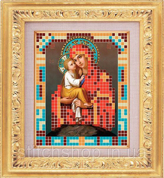 АР 7008 Богородица Почаевская. BUTiK. Схема на ткани для вышивания бисером