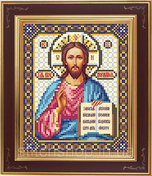 АР 2001 Иисус Вседержитель. BUTiK. Схема на ткани для вышивания бисером
