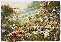 APC936 Evening Sun (Вечернее солнце, Ромашковое поле). Anchor Maia Collection. Набор для вышивания нитками